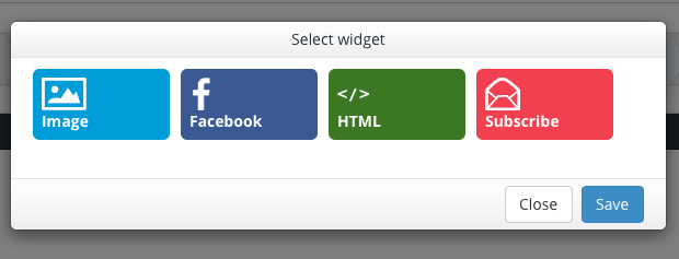 maxtraffic widgets